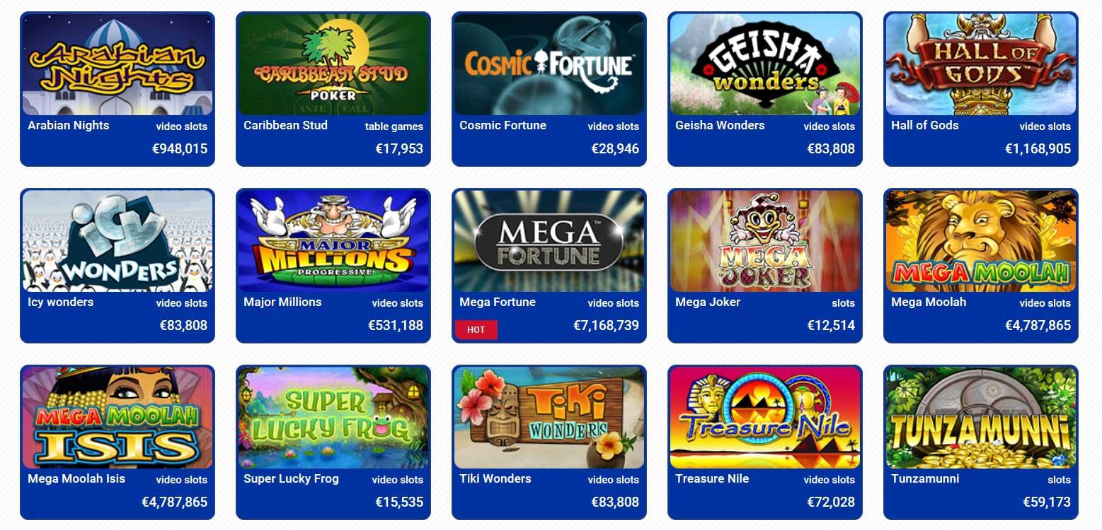 jackpot gokkasten